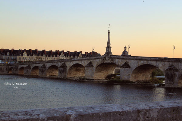 Sunset - Loire River.