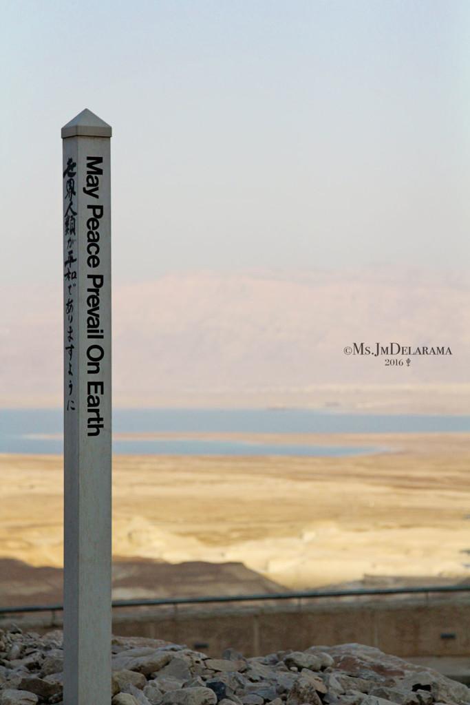 travel israel peace masada ancient city