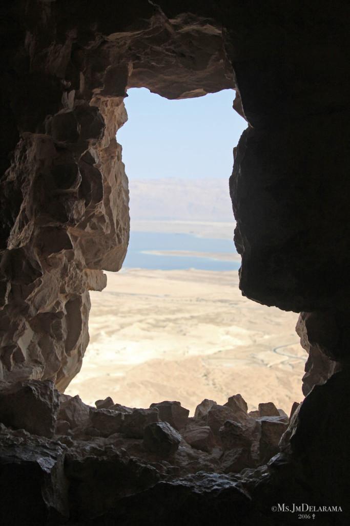 Masada travel view israel