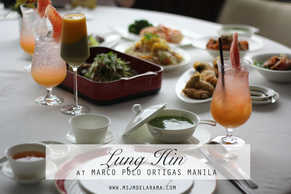 Throwback to China through the Award-Winning Cantonese Restaurant in Manila, LUNG HIN