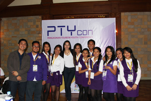 PTY con students tourism pangasinan youth conference