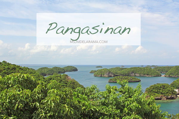 A Talk and Trip to Pangasinan (Pangasinan Tourism Youth Conference and the Hundred Islands)