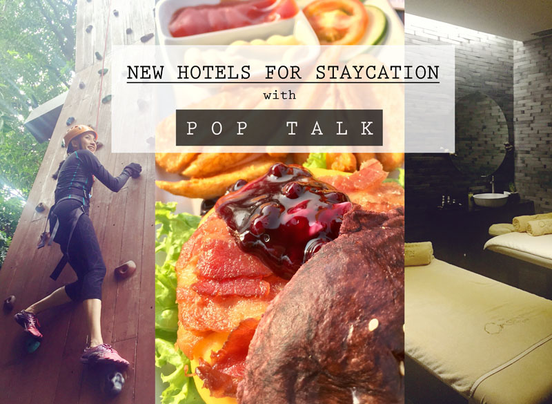 New Hotels for Staycation: Selah Garden Hotel, Belmont Hotel and IM Hotel (Another TV Review with Pop Talk)