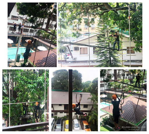 aerial walk pop talk gma news tv selah garden hotel
