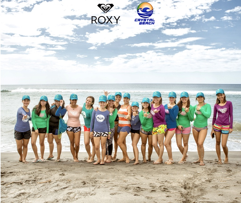 roxy fitness girls camp at crystal beach resort in zambales