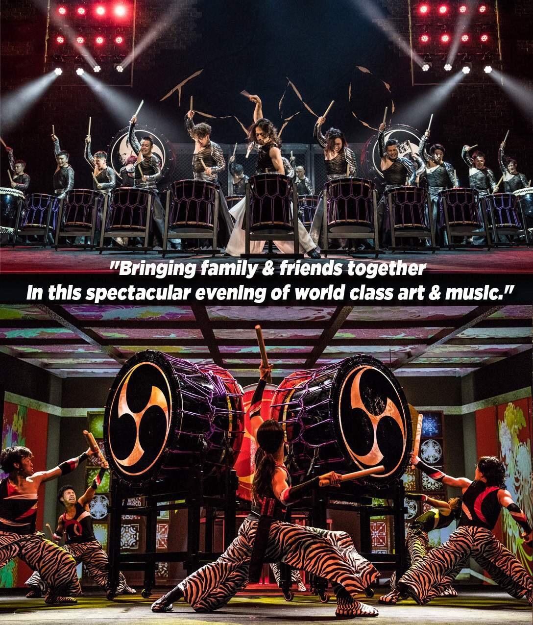 Drum Tao: The Unbeatable Drum Art Performance in Manila