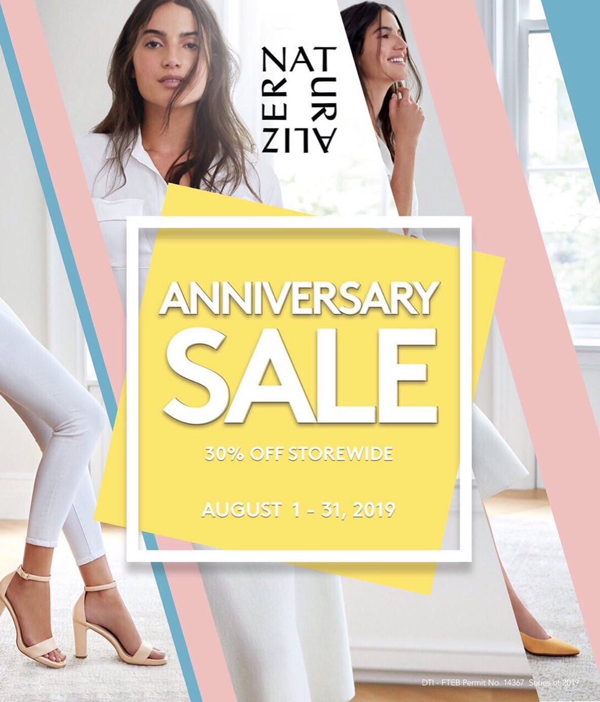 Shoes on Sale: Naturalizer Philippines' Anniversary Sale