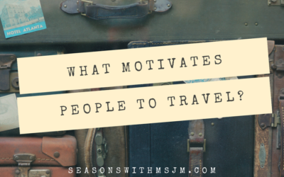 What motivates people to travel?